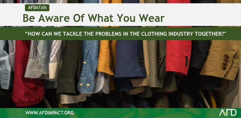 AFDxTALK picture clothes event